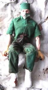 Altered war toy